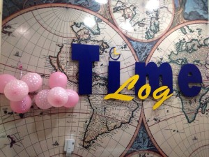 Time Log Agenciamentos no clima do Outubro Rosa.
