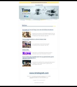Newsletter 100 Time Log
