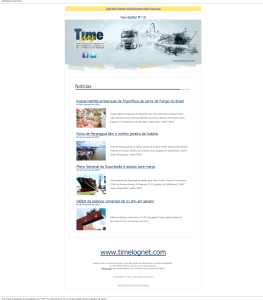 Newsletter 115 Time Log
