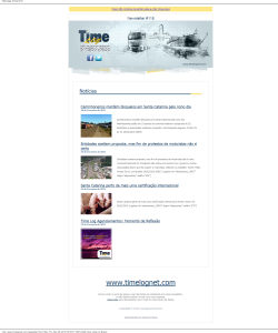 Newsletter 118 Time Log