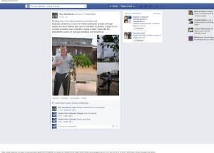 Fanpage da jornalista Dary Kumakola (05/02/2015).