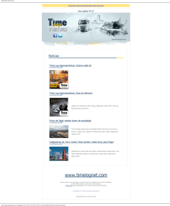 Newsletter 121 Time Log