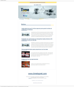 Newsletter 123 Time Log