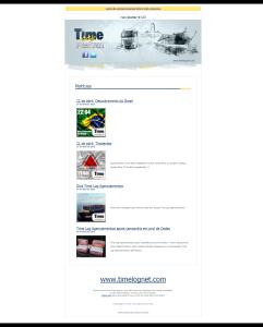 Newsletter 123 Time Log