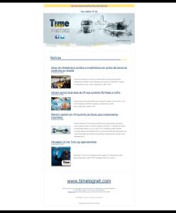 Newsletter 128 Time Log