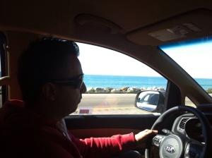 Meu irmão Ricardo, nosso guia nesta viagem inesquecível.