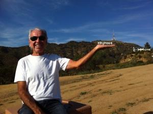 Ponto turístico de Hollywood.
