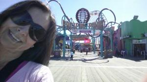 Pier Santa Monica.