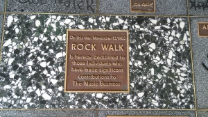 Rock Walk, Guitar Center Vegas.
