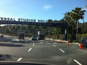 Chegando no Universal Studios Hollywood