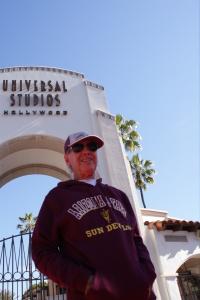 Meu pai no  Universal Studios Hollywood