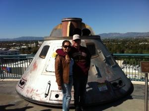 Eu e meu pai no  Universal Studios Hollywood