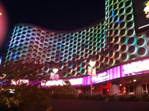 Vegas nos recebendo toda iluminada!