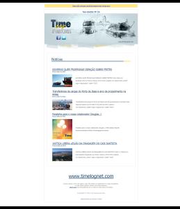 Newsletter 134 Time Log